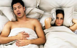 Храп во сне у мужчин