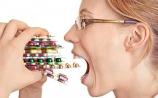 Интоксикация организма лекарствами