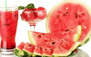 Арбузная диета для похудения