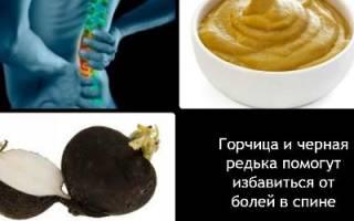 Лечение боли в пояснице народными средствами