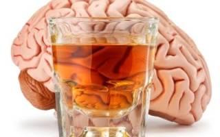 Алкоголь и гниение мозга