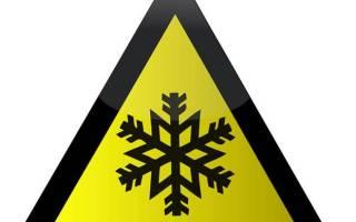 Обморожение (отморожение)