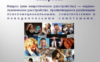 Невроз: симптомы, стадии и лечение