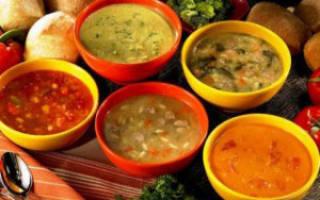 Диета на супах: плюсы и минусы